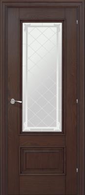 Межкомнатная дверь Халес Ромула-1 сатин Ромула-1 коньячный дуб (сатин) Межкомнатные двери в Минске в Минске