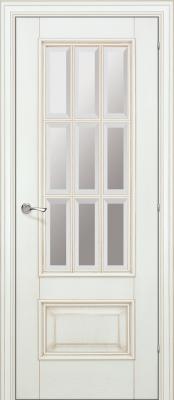 Межкомнатная дверь Халес Ромула-1 фацет Ромула-1 ваниль (фацет) двери Халес серия Ромула в Минске