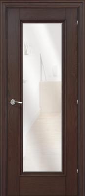 Межкомнатная дверь Халес Ромула 5 зеркало Ромула 5 коньячный дуб (зеркало) двери Халес серия Ромула в Минске