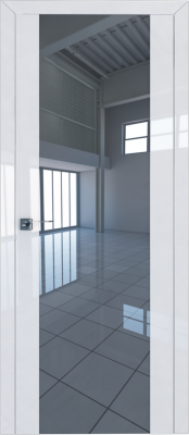 Profil Doors 8L белый люкс/зеркало