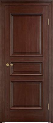 Межкомнатная дверь ПМЦ Д5 багет Dorian Barolo D5 темный орех Двери из массив дуба Поставы в Минске