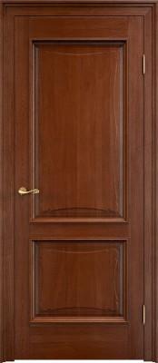 Межкомнатная дверь ПМЦ Д6/2 с багетом Dorian Barolo D6-2 коньяк Двери из массив дуба Поставы в Минске