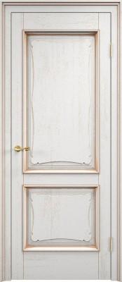 Dorian Barolo D6-2 патина золото Двери из массив дуба Поставы в Минске