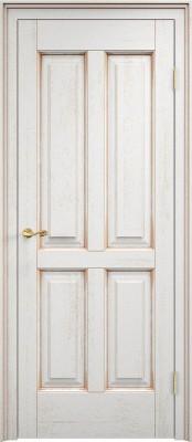 Межкомнатная дверь ПМЦ Д15 Dorian Barolo D15 патина золото Двери из дуба в Минске