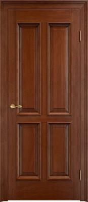 Межкомнатная дверь ПМЦ Д15 багет Dorian Barolo D15 коньяк Двери из массив дуба Поставы в Минске