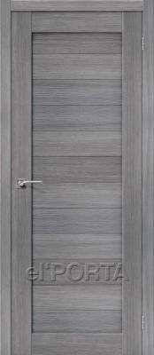 Межкомнатная дверь El'Porta Порта 21 Grey Veralingа Двери экошпон в Минске