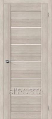 Межкомнатная дверь El'Porta Порта 22 Cappuccino Veralinga Двери экошпон в Минске