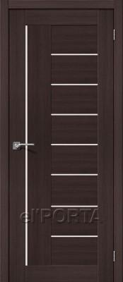 Межкомнатная дверь el'Porta Порта 29 Порта 29 Wenge Veralinga Двери экошпон в Минске