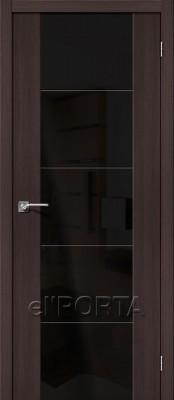 ЭльПорта V4 Wenge Veralinga Двери El'porta Vetro в Минске