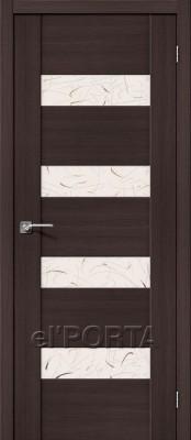 Межкомнатная дверь el'Porta VM4  el'Porta VM4 Wenge Veralinga двери ЭльПорта в Минске