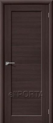 Межкомнатная дверь el'Porta АКВА-1 АКВА-1 Wenge Veralinga двери ЭльПорта в Минске