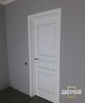Межкомнатная дверь ПМЦ Ол.5 ПМЦ Ol-5 коньяк патина Межкомнатные двери из массива в Минске