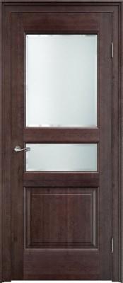 Межкомнатная дверь ПМЦ Ол.5 ст. ПМЦ Ол.5 морёный Двери из массива ольхи Поставы в Минске