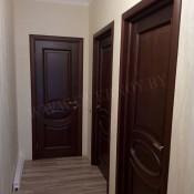 Межкомнатная дверь ПМЦ Ол.26 ПМЦ Ол.26 мореный патина Двери из массива ольхи Поставы в Минске