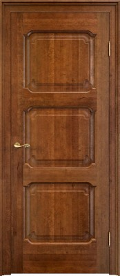 Межкомнатная дверь ПМЦ Ол.7/3 ПМЦ Ол.7-3 коньяк Двери из массива ольхи Поставы в Минске