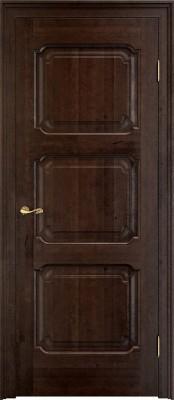 ПМЦ Ол.7-3 тёмный орех Двери из массива ольхи Поставы в Минске