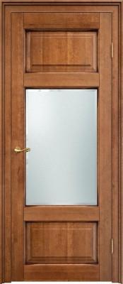 Межкомнатная дверь ПМЦ Ол.55 ст. ПМЦ Ол.55 орех патина Двери из массива ольхи в Минске