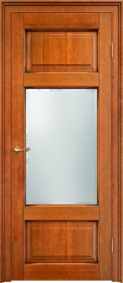 ПМЦ Ол.55 медовый патина Двери из массива ольхи Поставы в Минске