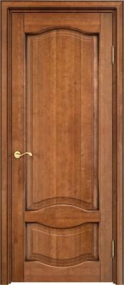 Межкомнатная дверь ПМЦ Ол.33 ПМЦ Ол.33 орех патина Двери из массива ольхи в Минске