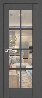 Profil Doors 101X пекан тёмный/прозрачное стекло