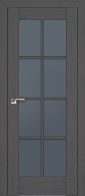 Profil Doors 101X пекан тёмный/стекло графит