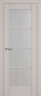 Profil Doors 101X пекан белый/стекло мателюкс