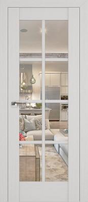Profil Doors 101X пекан белый/прозрачное стекло Двери Профиль Дорс серия Х в Минске