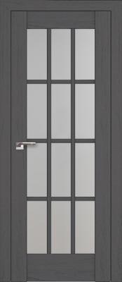 Profil Doors 102X пекан тёмный/стекло мателюкс