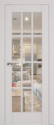 Profil Doors 102X пекан белый/прозрачное стекло