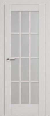 Profil Doors 102X пекан белый/стекло мателюкс