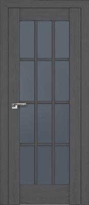 Profil Doors 102X пекан тёмный/стекло графит Двери Профиль Дорс серия Х в Минске