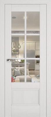 Profil Doors 103X пекан белый/прозрачное стекло
