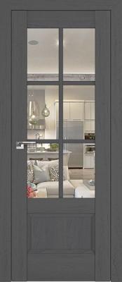 Profil Doors 103X пекан тёмный/прозрачное стекло