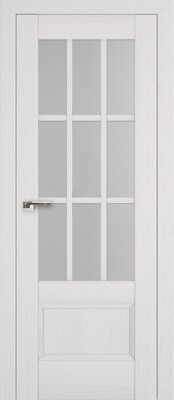 Profil Doors 104X пекан белый/стекло мателюкс
