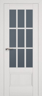 Profil Doors 104X пекан белый/стекло графит