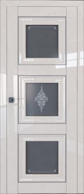 Межкомнатная дверь Profil Doors 97L Profil Doors 97L магнолия люкс Двери Профиль Дорс серии L в Минске