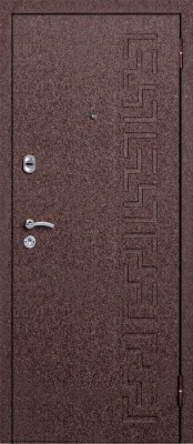 Входная металлическая дверь Металюкс М6/1 Металюкс М6/1 (наружная сторона) ООО КапиталСтройГрупп в Минске