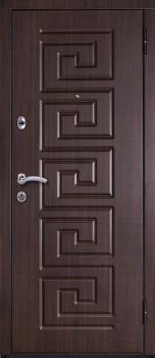 Входная металлическая дверь МетаЛюкс М11 МетаЛюкс М11 (наружная сторона) входные двери Металюкс в Минске