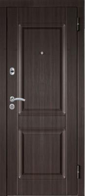 Входная металлическая дверь МетаЛюкс М34 МетаЛюкс М34 (наружная сторона) входные двери Металюкс в Минске