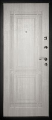 Входная металлическая дверь ДК Лайн-1 Дверной Континент Лайн-1 (внутренняя сторона) Входные металлические двери Дверной Континент в Минске