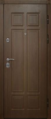 Дверной Континент Консул (наружная сторона) Входные металлические двери Дверной Континент в Минске