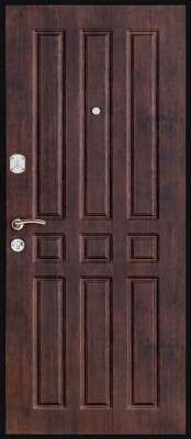 Входная металлическая дверь Титан Престиж Титан Престиж (внутренняя сторона) Входные двери Титан в Минске