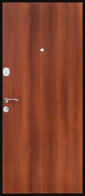Входная металлическая дверь Титан Оптим итал.орех Титан Оптим итал.орех (внутренняя сторона) Входные двери Титан в Минске