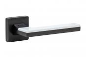 System Larissa черный матовый никель/белый глянцевый