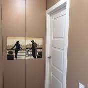 Межкомнатная дверь Халес АЛИКАНТЕ D Аликанте D цвет Ral 9003 Двери эмалевые Халес в Минске