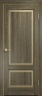 Межкомнатная дверь ПМЦ М13 ПГ ПМЦ М13 мох/патина чёрная Двери массив сосны Поставы в Минске