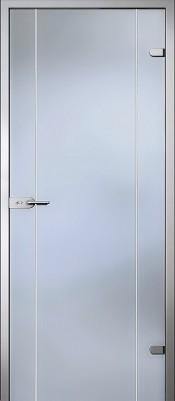 Акма Карелия матовое бесцветное Стеклянные двери AKMA в Минске