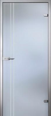Акма Калисса матовое бесцветное Стеклянные двери межкомнатные в Минске