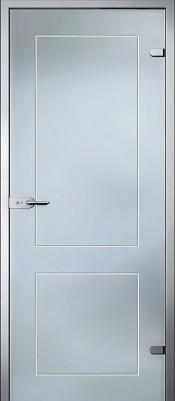 Акма Клавдия матовое бесцветное Стеклянные двери AKMA в Минске