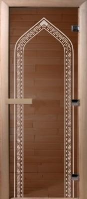 Doorwood АРКА бронза Стеклянные двери для бани в Минске